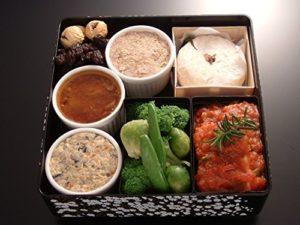 メゾン・ド・スリジェの洋風おせち三段重の二の重の料理内容