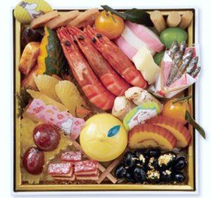 ベルメゾンのムーミンのおせち、一の重は和の祝い膳