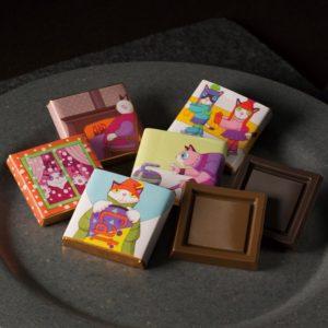 ゴンチャロフのチョコレートブランド、パリの猫がテーマの【ビアンクール】