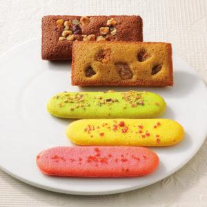 レクレール・ドゥ・ジェニの焼き菓子、フィナンシェとマドレーヌの詰め合わせ