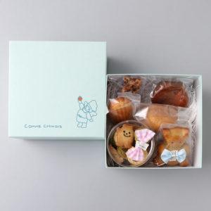 コムシノワの高島屋限定、ホワイトデー限定の焼き菓子詰め合わせ