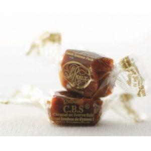アンリルルーのスペシャリテ、キャラメルの「C.B.S」はブルターニュ特産の塩とブルターニュ特産の濃厚な加塩バターを贅沢に使って仕上げられている