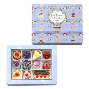 ゴンチャロフと大丸百貨店のコラボーレーションチョコレート「プチデザートアラモード」はパッケージも可愛い!