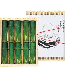 お中元には見た目も涼しげな竹筒に入った水ようかんが人気です