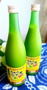 シークワーサー本舗の青切りシークワーサー100プレミアムはノビレチンが豊富な人気のシークワーサー原液ジュースです。