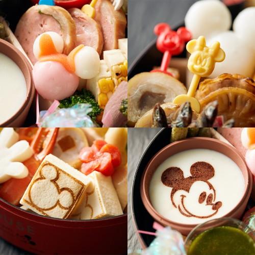 ベルメゾンのキャラクターおせち、ディズニーおせち「ミッキーマウスおせち三段重