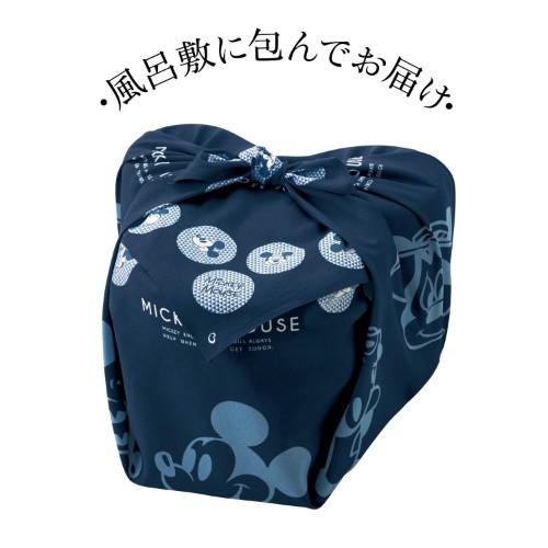 ベルメゾンのキャラクターおせち、ディズニーおせちの「ミッキーマウス三段重」はオリジナルの可愛い風呂敷に包まれて届きます