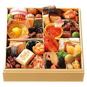 京都美先のおせち料理一段重