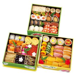 菊乃井のおせち「和三段重」118800円