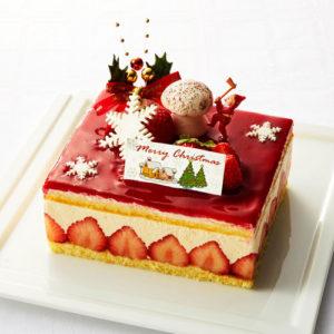 シェシブヤのクリスマスケーキ