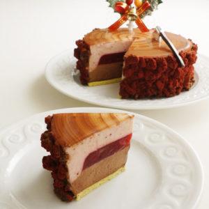 オテルドミクニのクリスマスケーキ