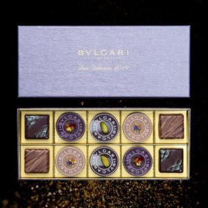 ブルガリイル・チョコラートのバレンタインチョコレートの詰め合わせ