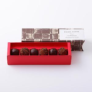 ピエールエルメのチョコレートはバレンタインのプレゼントにもおすすめです。