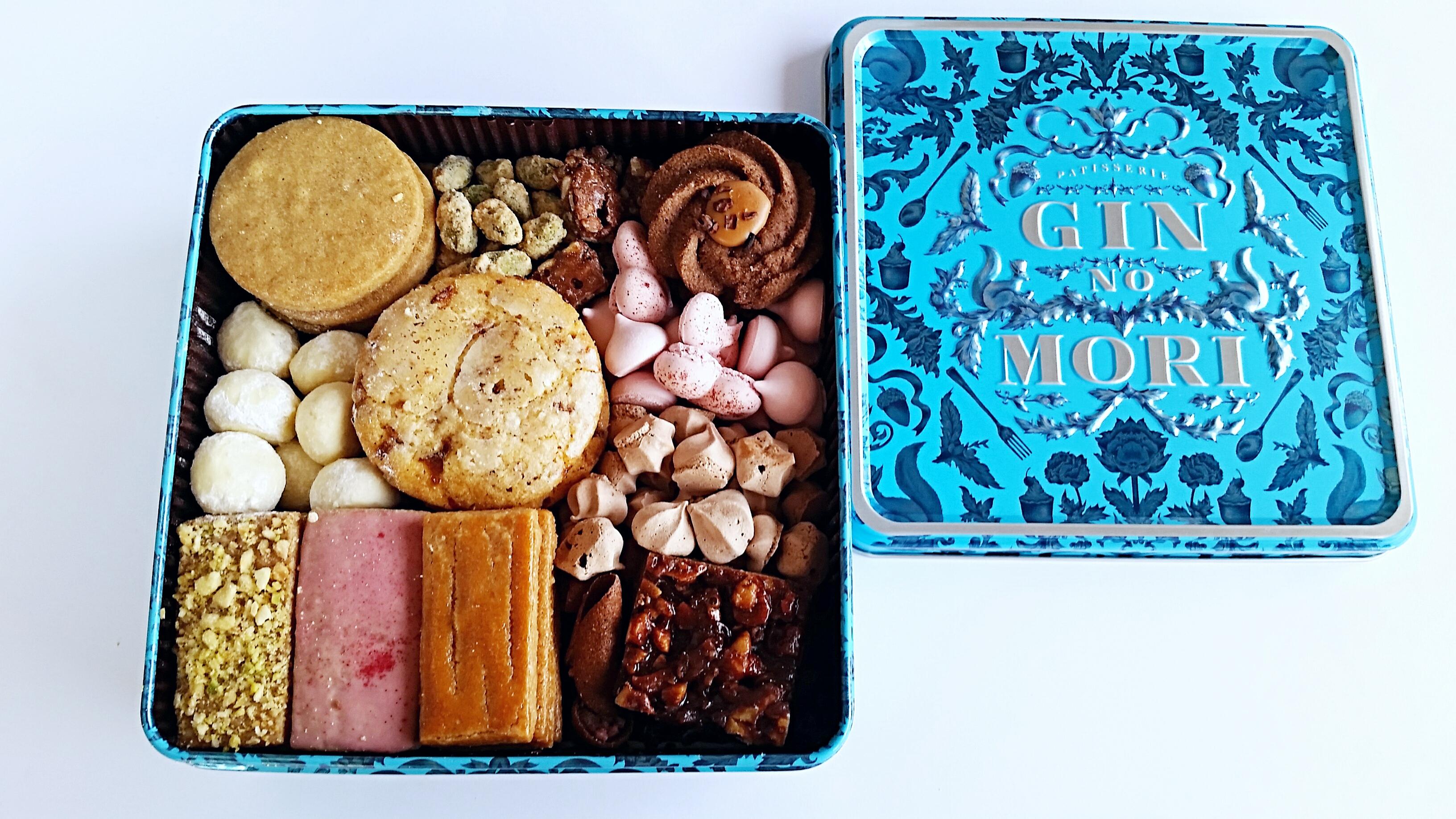 銀の森のクッキー【プティボワ】冬限定のクッキー館は、寒い季節に合わせてスパイスなどを使ったクッキーが多く詰め合わせされています