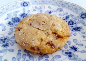 銀の森のクッキープティポワ150、冬、ウィンター缶に入っているガレットラムレザン